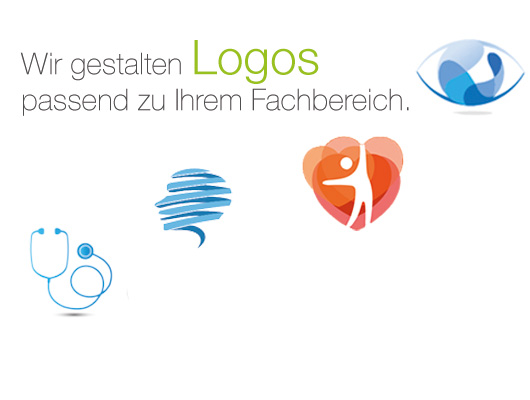Individuell auf Sie angepasste Logos von Medicus Marketing