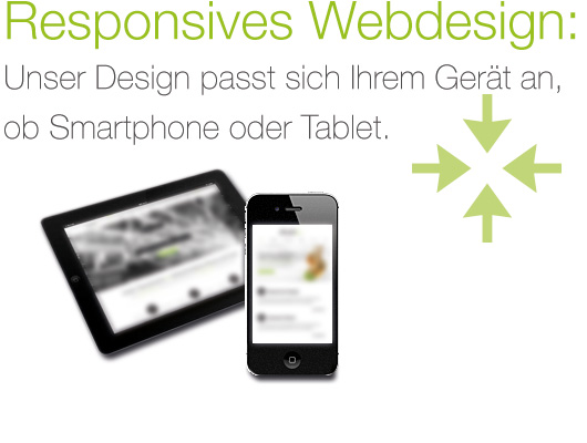 Responsives Webdesign für Smartphones und Tablets bei Medicus Marketing in Düsseldorf